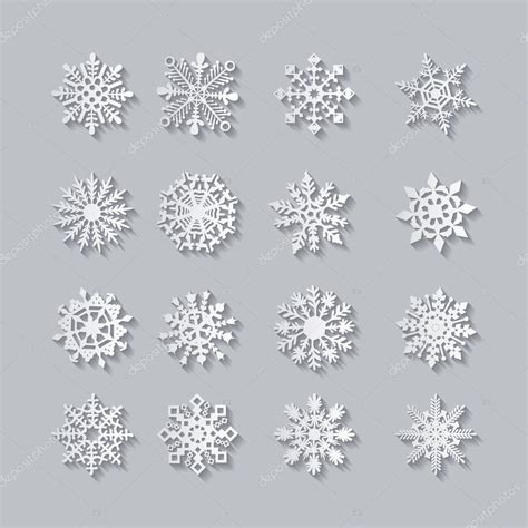 Gray Snowflake Background by Grey Snowflake Backgrounds