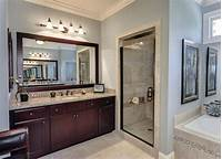 large bathroom mirrors An unconventional way to decorate your bathroom using a large bathroom mirror
