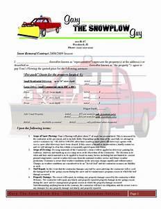 5 best images of snow removal invoice template snow With snow plowing invoice