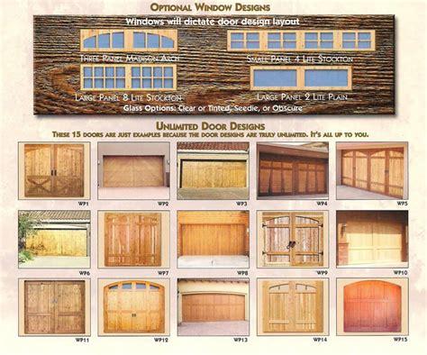 types of garage doors garage doors types sc 1 st arrowhead garage doors