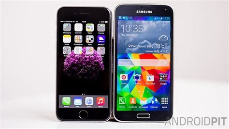 samsung galaxy s5 vs iphone 6 iphone 6 vs galaxy s5 comparison with hindsight a clear