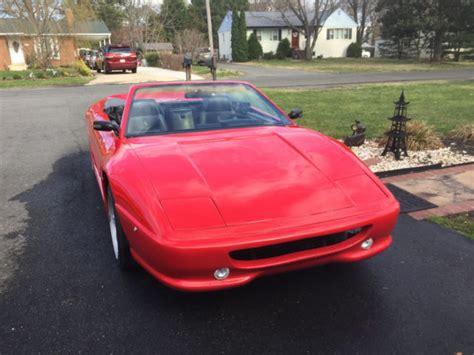 1986 pontiac fiero se ferrari replica. Ferrari 355 v8 Kit Car - Classic Pontiac Fiero 1986 for sale
