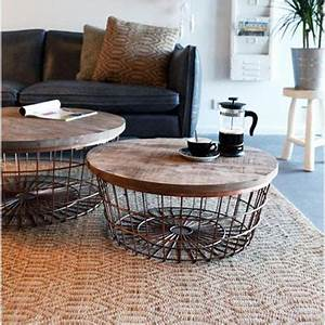 Table Basse Panier : meubles d 39 appoint ~ Teatrodelosmanantiales.com Idées de Décoration