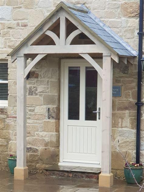 Front Door Porch bespoke green oak porch front door canopy handmade in