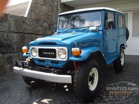 jual mobil toyota hardtop 1978 4 2 di dki jakarta manual suv offroad 4wd biru rp 165 000 000