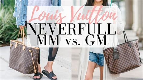 louis vuitton neverfull mm  gm  minute friday luxmommy youtube