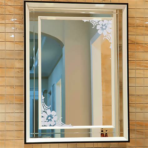 Mirror Stickers Bathroom by Removable Showcase Glass Window Bathroom Mirror Wall 2