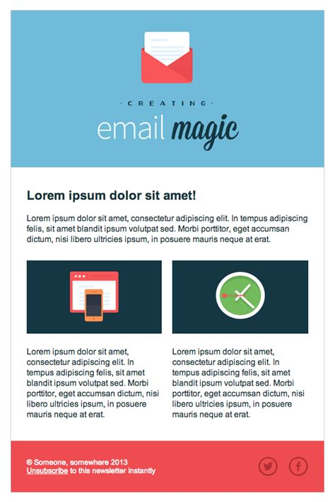build  html email template  scratch