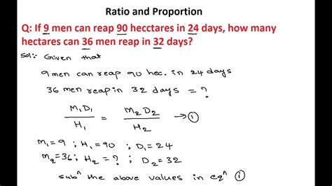 Ratio And Proportion 1  Numerical Ability Ratio And Proportion Questions And Answers Youtube