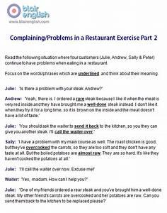Restaurant & food English vocabulary class worksheets ...