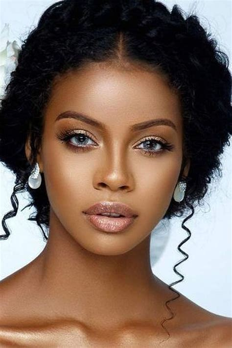 makeup ideas  black women