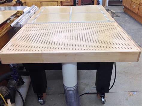 pauls assemblydowndraft table  wood whisperer