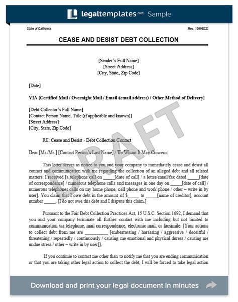 cease  desist letter cd create  cease desist