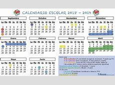 Calendario escolar 20182019 un día más de vacaciones de