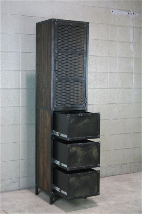 Combine 9   Industrial Furniture ? Industrial Cabinet