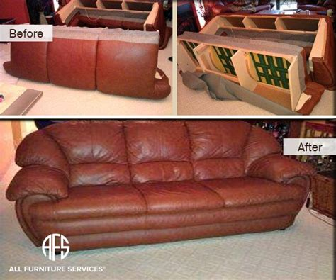 Leather Settee Repair by All Furniture Services 174 Furniture Repair Restoration
