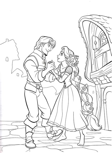 rapunzel coloring pages  coloring pages  kids