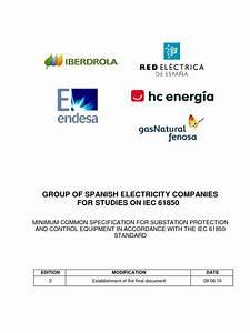 E3 Iec61850 Specification Document 20100609