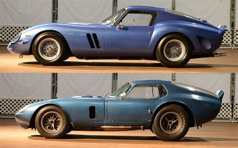 Today's shelby 289 street cobra is still primarily based on the first car to use the original suspension and bodywork. Ferrari 250 GTO (1962 - 1964, 39 built) vs Daytona Coupe (1964 - 1965, 6 built)   Daytona coupe ...