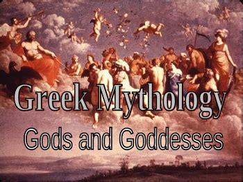 greek mythology powerpoint olympic  gods