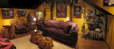 the man cave horror theater sound vision