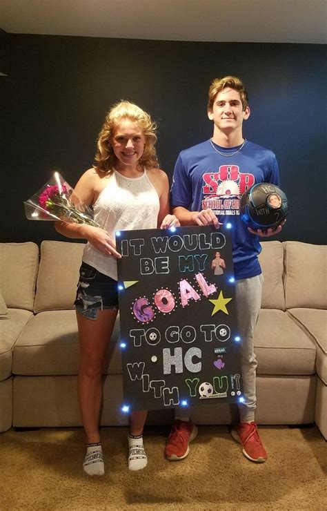 soccer proposal school dances homecoming proposal