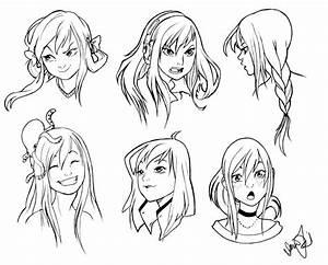Resultado de imagen para manga face expressions | How2Draw ...