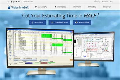 Software Estimating Construction Residential Contractors Website Electrical