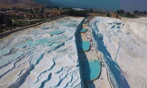 pamukkale pools thermal turkey clean