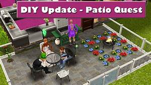 Sims Freeplay Diy Update - Patio Quest