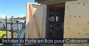 Remise En Bois Pour Jardin : installer une porte de cabanon abri de jardin pentures ~ Premium-room.com Idées de Décoration