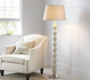 jolie mother of pearl floor lamp base pottery barn With white floor lamp pottery barn