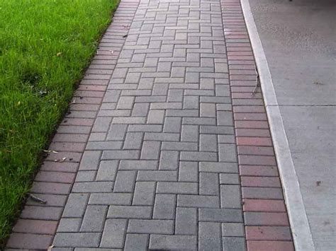paver layout brick sidewalk brick walkways concrete walkways entrance ways interlocking pavers for