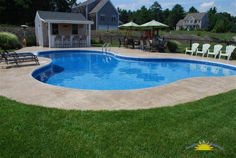 pics of pools in ground sunshine pool company new pools in ground