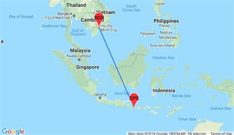 cheap  stop flights  vietnam  bali