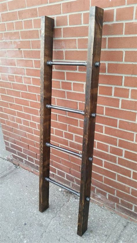 industrial pipe  wood blanket ladder valentines day