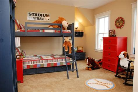 Decorating Boys' Bedrooms-abode