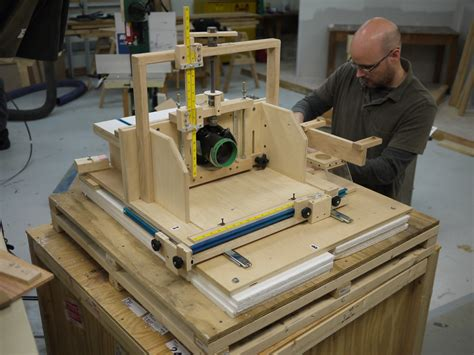 gerry melly topic homemade woodworking equipment