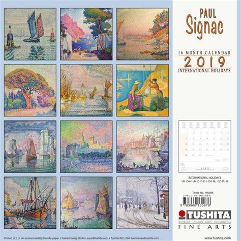 paul signac calendars ukpostersukposters