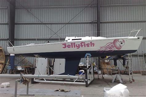 Zeilboot Wrappen by Boot Belettering Boot Wrap Bootinterieur Folie Dr Sticker