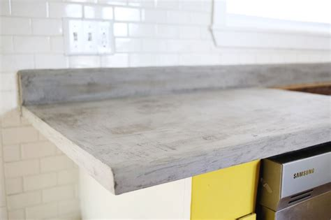 concrete countertops diy concrete countertop diy a beautiful mess