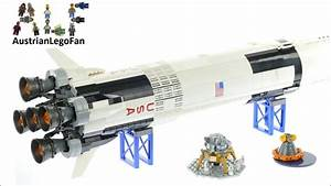 Lego Ideas 21309 NASA Apollo Saturn V - Lego Speed Build ...