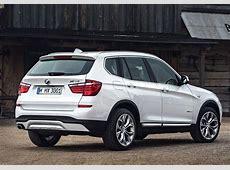 BMW offers updated 2015 X3 SUV diesel MarketWatch