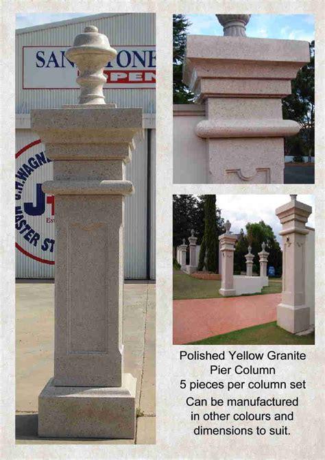 granite column pier style