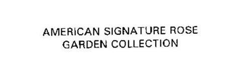 american signature garden collection trademark of