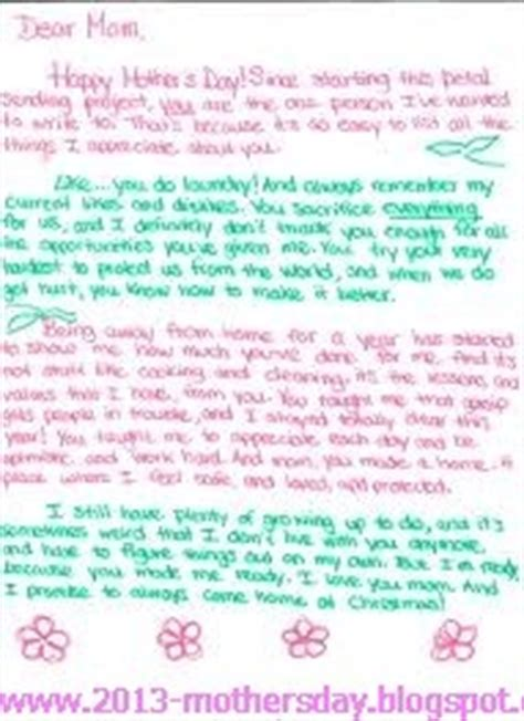 mothers day letter happy s day letters s day 2013 8254