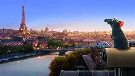 full hd wallpaper ratatouille rat paris landscape desktop