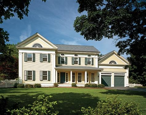 greek revival house revival home  maine  refreshed