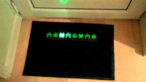 space invaders doormat space invaders doormat