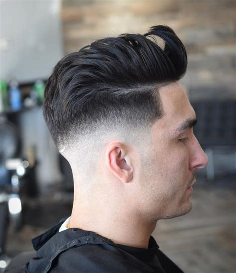 pompadour haircut  men  unique ideas